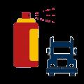 Lakiery spray do samochodów ciężarowych